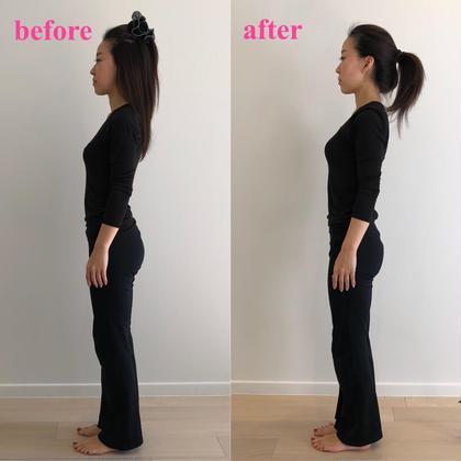 バレエピラティス後、一度で実感!! 姿勢はトレーニングで変えれます。 体幹を鍛えて美姿勢に♪ どなたでもできる簡単エクササイズです(^-^) SiSTotalBeauty所属・田中佑果のフォト