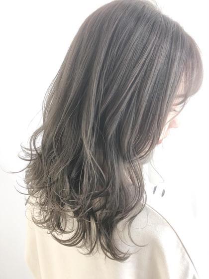 【❤️リピートNO.2❤️】前髪カット+イルミナカラーorアディクシーカラー+TOKIOトリートメント