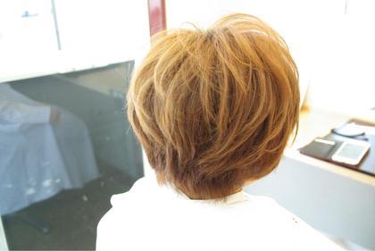 ショートマッシュ、 カットで雰囲気は大きく変わります(^O^) 西洋髪結OORE所属・小田浩司のスタイル