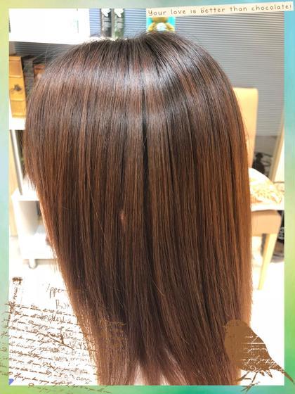 太田尚貴のセミロングのヘアスタイル