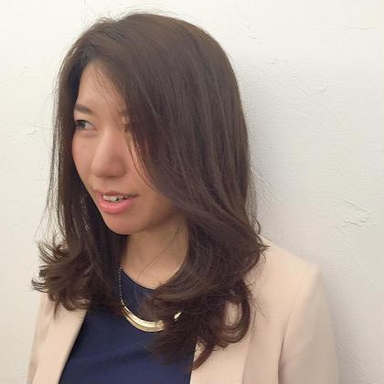 かき揚げ前髪スタイル! ape beauty world水戸見川店所属・黒羽信幸のスタイル