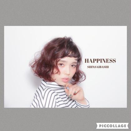 おしゃれなふわふわボブ♡ 可愛いーーー♡ HAPPINESS心斎橋店所属・Tomoのスタイル