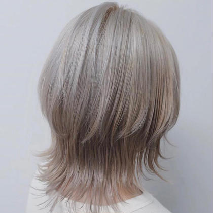 W color + treatment(ヘアケア付)