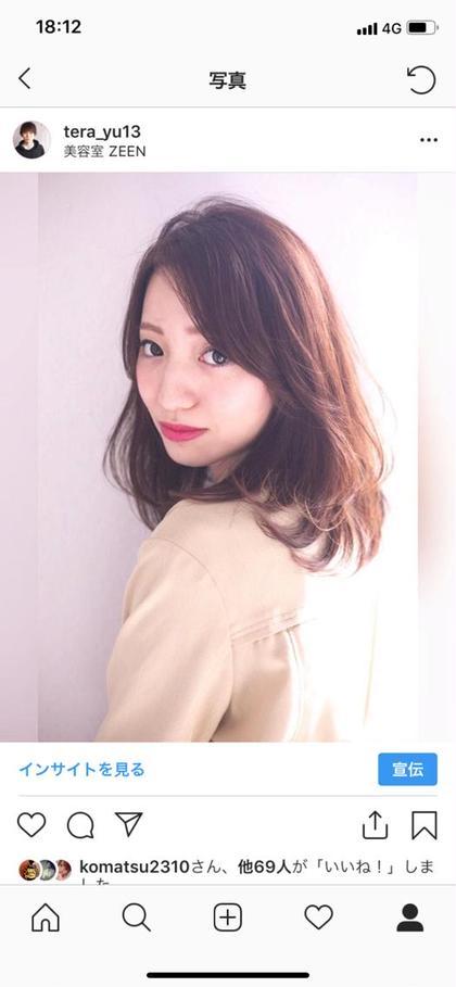 【ミディアム or ボブの方】限定 カラー&カット&撮影モデル