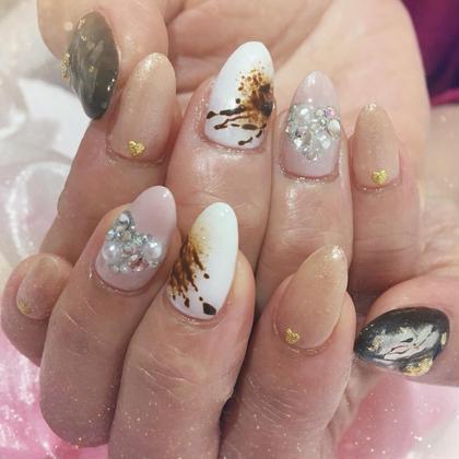 Valentine choco nail..❁¨̮ merrow横浜元町店所属・merrow中村紫オンのフォト