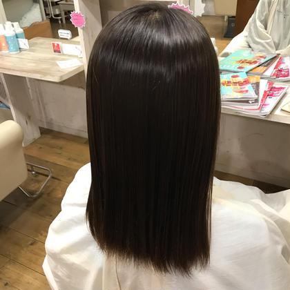 真っ直ぐ綺麗な髪へ 🌟 縮毛強制