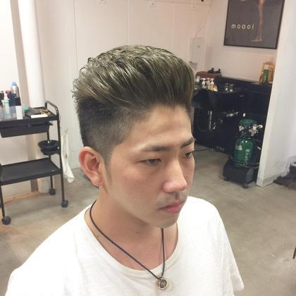 外国人風 ワンブリーチからのマット入れました JUNESman目白男髪所属・坂西竜のスタイル