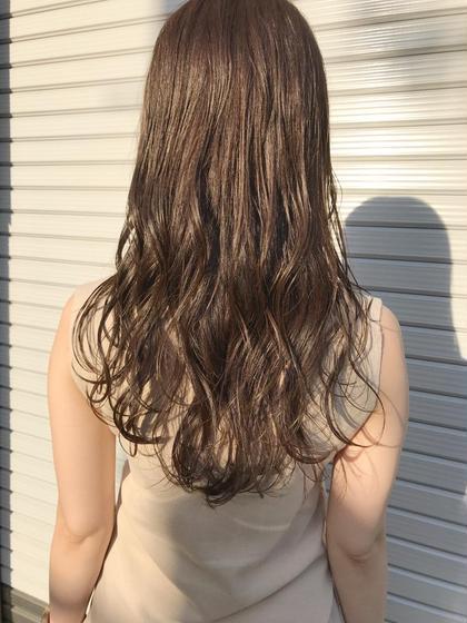 🔶新規クーポン🔶【透明感×艶髪】イルミナカラー+ブロー