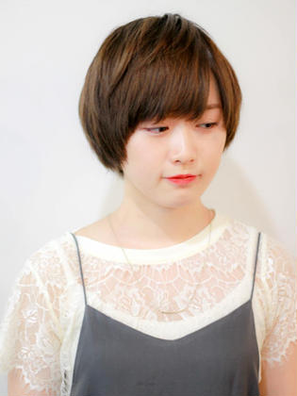 ナチュラルショート☆ zinghair /  shinkoiwa所属・村本詳裕のスタイル