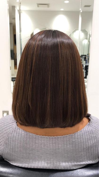 トリートメントで癖を抑え、扱いやすい髪の毛に変えられます。 salon所属・髪質改善 杉村一侑のスタイル