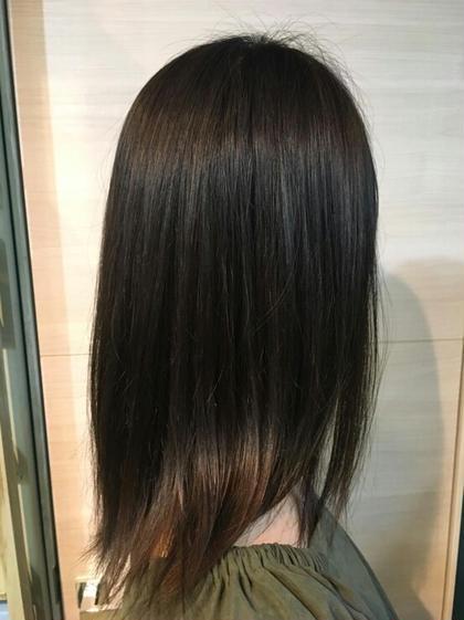 ココアブラウン 1/f HAIR GARDEN所属・森隼人のスタイル