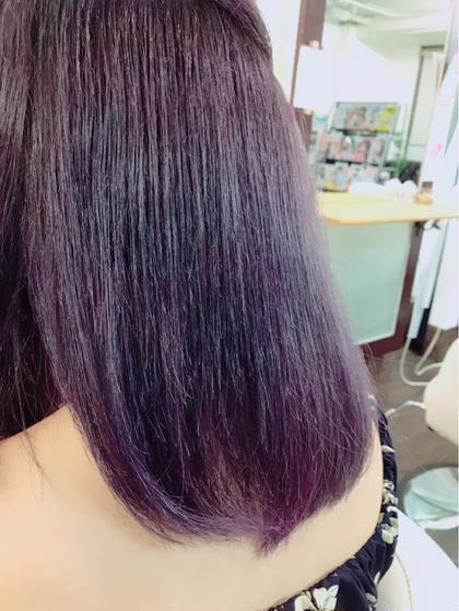 【モーヴ】バイオレット ARTESIA by anyhow所属・岡野巧のスタイル