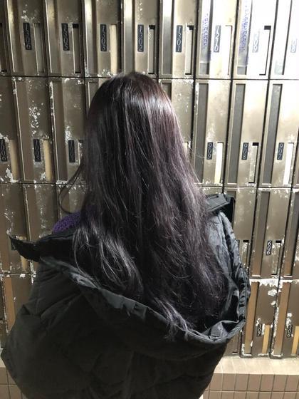 色落ちが絶対に綺麗になるカラー+似合わせ前髪カット!アロマオイル付き💆♀️