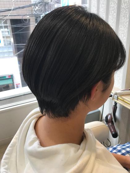 バッサリショートで気分転換に☆ Ash仙川店所属・店長 ディレクター内田 孝仁のスタイル