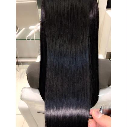 ✨【史上最高のダメージレス】✨髪質改善✨カット&縮毛矯正&極上トリートメント