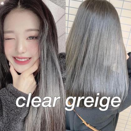 【🍬🍭🦄1日2名様様限定クーポン🍭🍬🦄】(ブリーチあり)ダブルカラー+髪質改善トリートメント💘💞💞