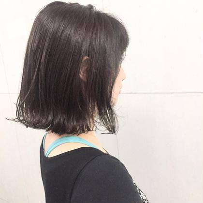 《透け感アッシュグレー》 暗くても透けるカラーです☆ Above.所属・オーホリタツヤのスタイル