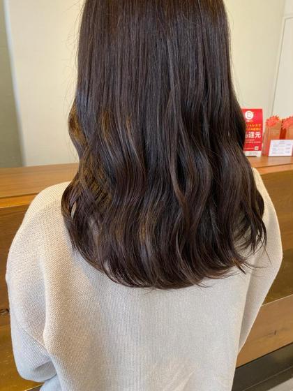 【平日限定🍒】似合わせ前髪カット+トレンドスタイリング[ゆるふわヘアorストレートヘア]お選びいただけます