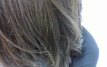 ハイライトダブルカラー アッシュグレー アディクシーカラー Hair Salon Valor 所属・渡辺康行のスタイル