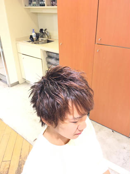 indexhair清澄白河店所属・高松大地のスタイル