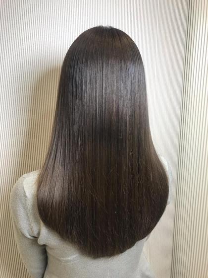 🉐【6/17のみ限定メニュー】髪質改善縮毛矯正💝➕カット➕ケアトリートメント