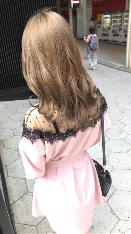 高橋亮子のロングのヘアスタイル