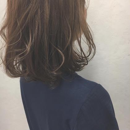 ♡初回限定♡カット+大人グレイカラー+トリートメント