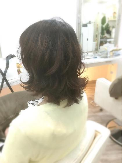 その他 カラー パーマ ミディアム ✨モテ髪ヘア✨