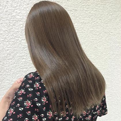 トリートメントでサラ艶髪 KENJE平塚LUSCA所属・KOBAYASHIKANAのスタイル