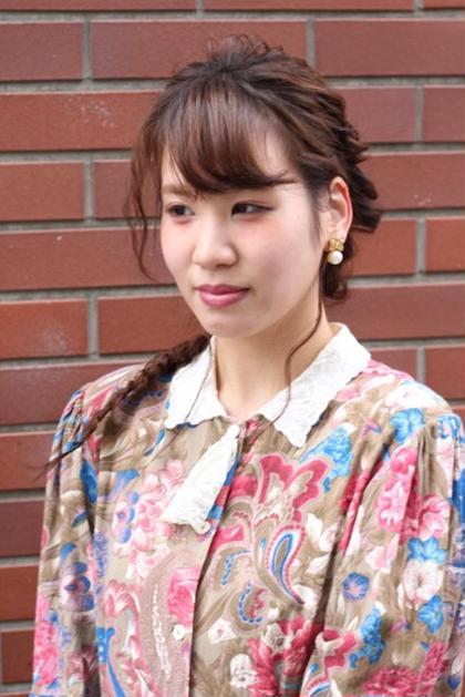 アレンジ×フィッシュボーン salondeBIKA店長所属・田中貴大のスタイル