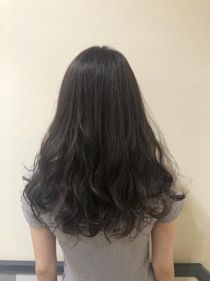 人気No. 1❤️透明感たっぷりカラー&シルクトリートメント 前髪カットも無料でついてます❣️