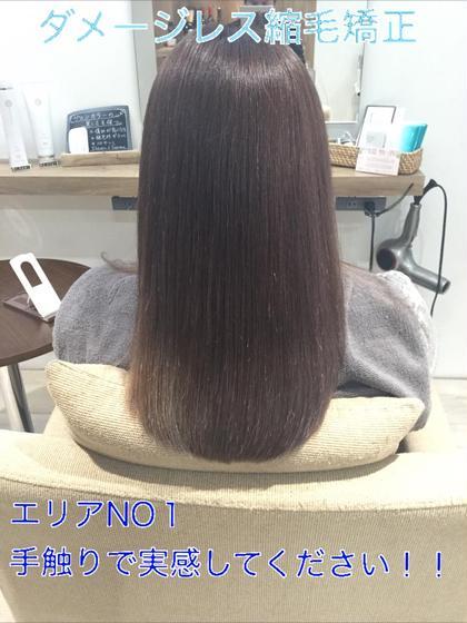 💧縮毛矯正 & アミノ酸3ステップトリートメント💧