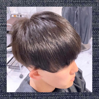 🌟極上 自然に仕上がる縮毛矯正🌟メンズカット+炭酸スパ+トリートメント+極上さらさら縮毛矯正+ヘアセット