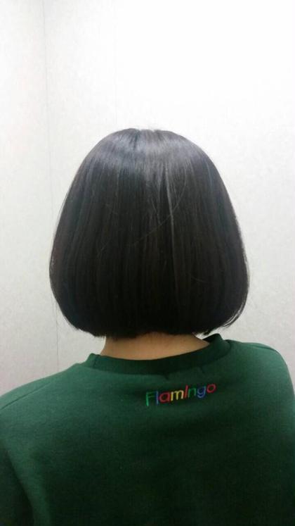 ロングからのスタイルチェンジ!!  ic hair make所属・南谷愛のスタイル