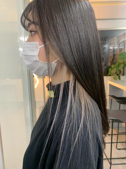 🦋インナーカラー🦋毛髪強化剤込