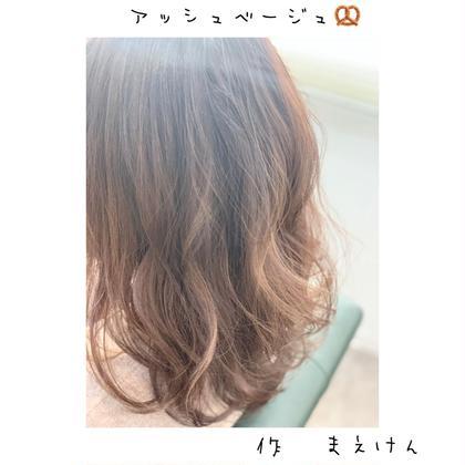 irobyMIIA所属の前田健太のヘアカタログ