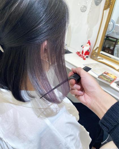 オススメ🌸【髪質改善×ブリーチなしWカラー✨】🥀透明感Wカラー+髪質改善🥀