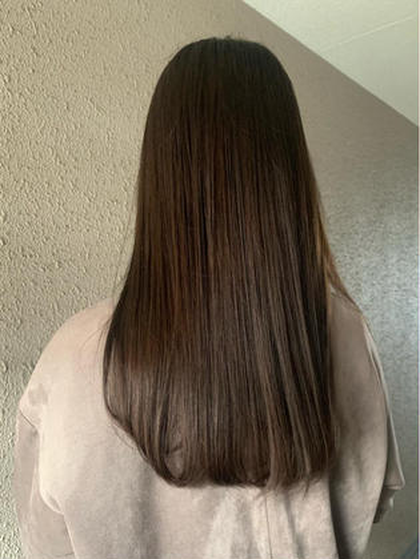 《髪質改善トリートメントサイエンスアクア》+カラー