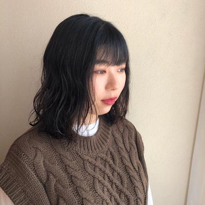 🔅10月限定🔅カット&パーマ(髪質改善トリートメント付)