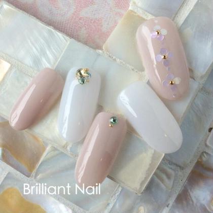 シンプルデザインコース♪ Brilliant Nail & Beauty所属・塚田和恵のフォト