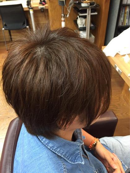 バージン毛だったので毛先から塗って時間をおき根元を塗りました。 スターマーク所属・鈴木裕仁のスタイル