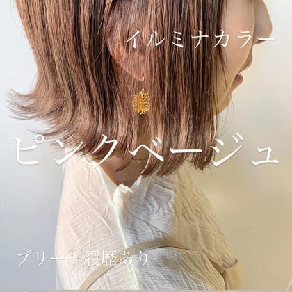 (新規)人気No.2🧚カット +イルミナカラー+艶髪ケア