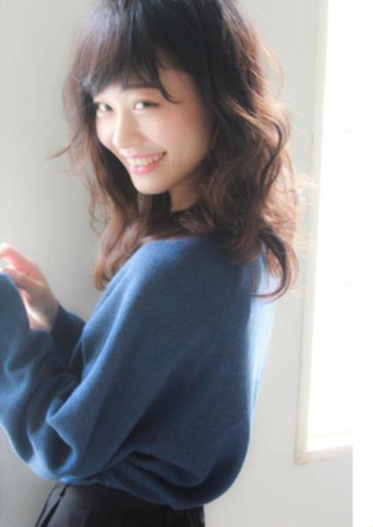 写真では分かりづらいのですが  ピンクベージュ系カラーで仕上げています! iNUOVE所属・田中郁矢のスタイル