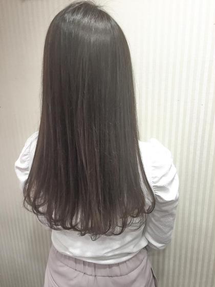カラー セミロング ミディアム ロング jelly gray color