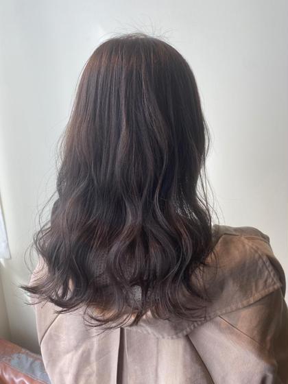 【ご来店頂いてる方はコチラ】シングルカラー & 艶髪トリートメント