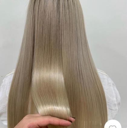 《艶髪になりたい方おすすめ💜》🌟うる艶・まとまり・さらさら🌟SNSで話題の髪質改善トリートメント