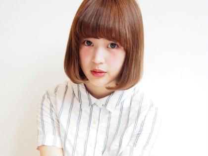 シンプルなボブスタイル☆ Libera所属・【店長】青山翔史  のスタイル