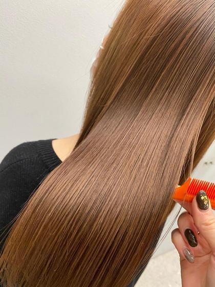🌈髪質改善トリートメント+ケアカラー(カットでも可)🌈13200