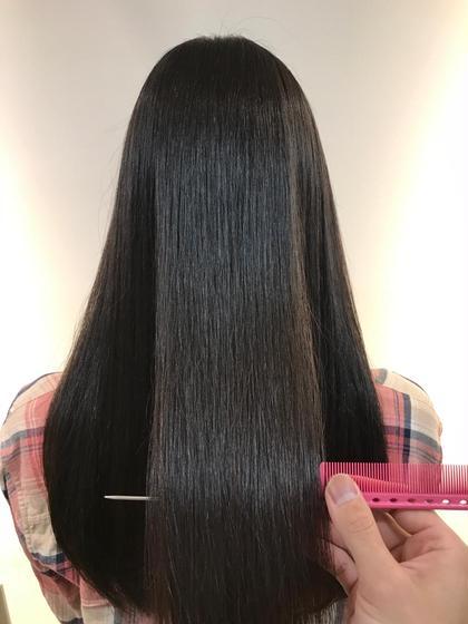 ツヤ髪大学「ノンアイロン縮毛矯正で髪質改善」癖毛・うねり・広がり・アホ毛に天使の輪を♡ 更にパサつき・ハイダメージも可能