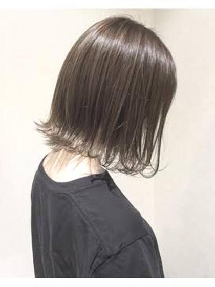 艶髪カラー+スぺシャルトリートメント(メンテナンスカット有り)